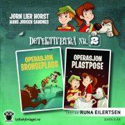 Lydbok - Operasjon Plastpose-Jørn Lier Horst