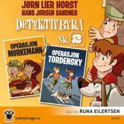 Lydbok - Operasjon Tordensky  + Operasjon Mørkemann-