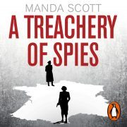 Lydbok - A Treachery of Spies-Manda Scott