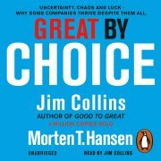 Lydbok - Great by Choice-Jim Collins