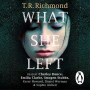 Lydbok - What She Left-T. R. Richmond