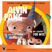 Lydbok - Alvin Pang og en søster for mye/ AP og verdens beste bursdag-