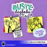 Lydbok - Dustedagboka 7 + 8-