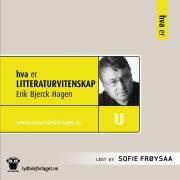 Lydbok - Hva er litteraturvitenskap-