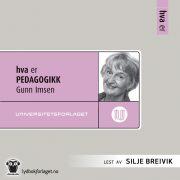 Lydbok - Hva er pedagogikk-