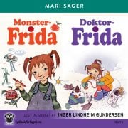 Lydbok - Monster-Frida + Doktor-Frida-