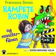 Lydbok - Rampete Robin og monsterfilmen-