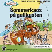 Lydbok - Sommerkaos på gullkysten-