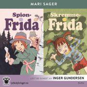 Lydbok - Spion-Frida + Skremme-Frida-