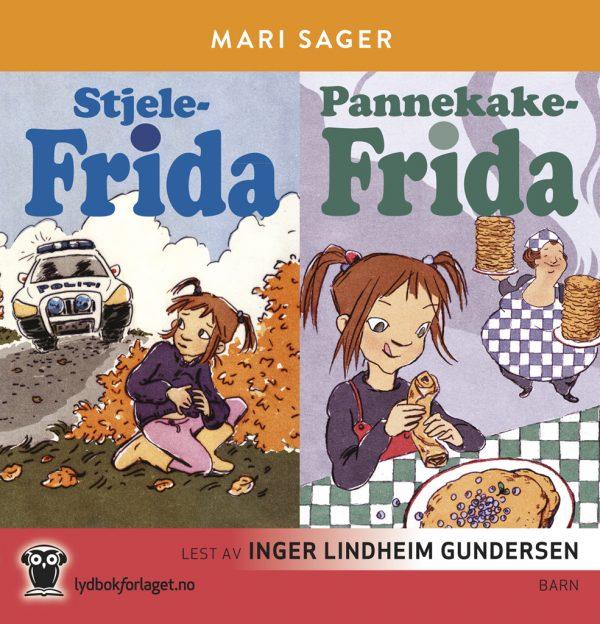 Lydbok - Stjele-Frida + Pannekake-Frida-