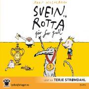 Lydbok - Svein og rotta går for gull-