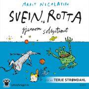 Lydbok - Svein og rotta gjennom solsystemet-