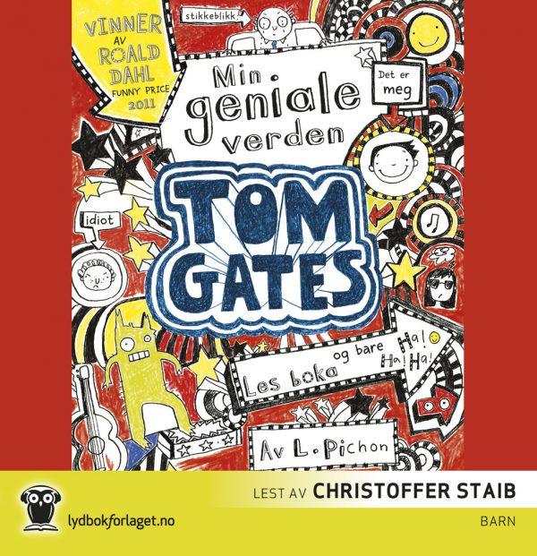 Lydbok - Tom Gates: Min geniale verden-