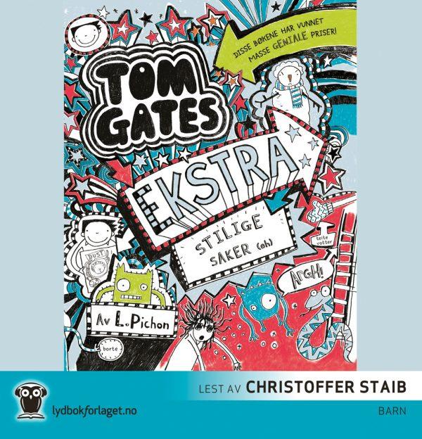 Lydbok - Tom Gates. Ekstra stilige saker (eh)-
